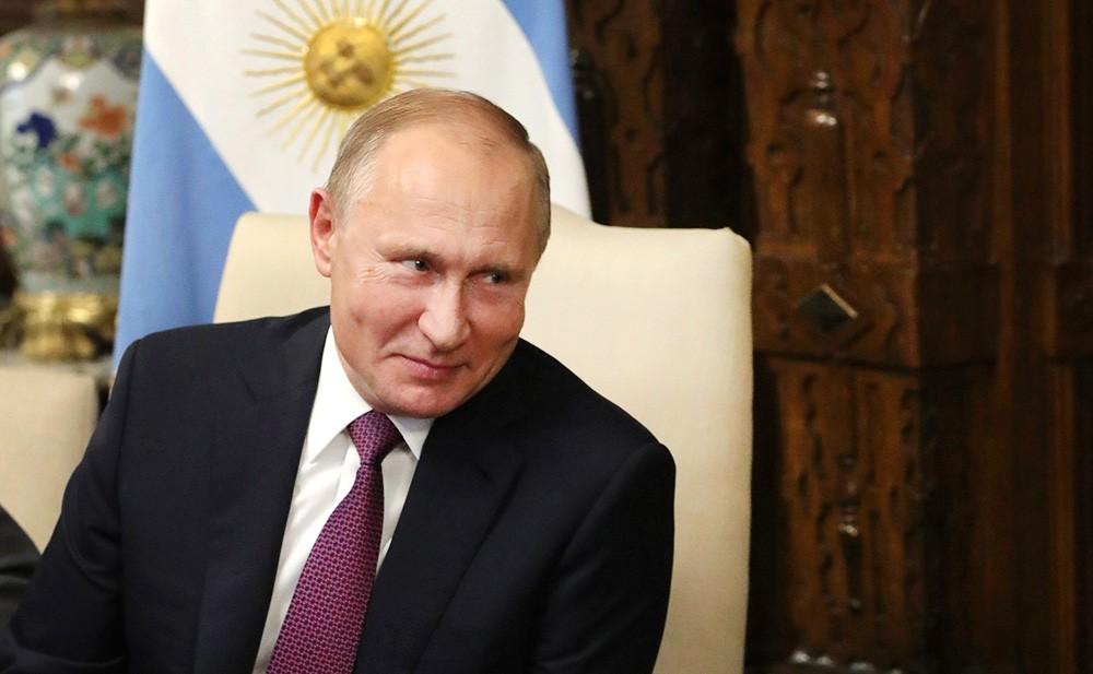 Владимир Путин с официальным визитом в Аргентине