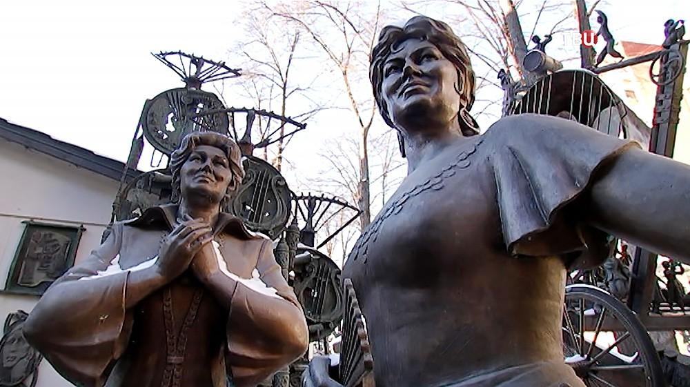 Скульптуры в Москве