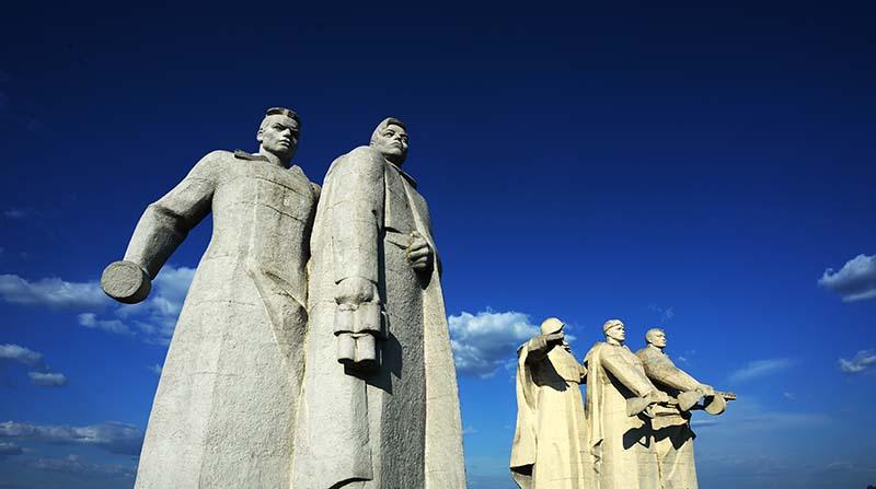 Мемориал памяти 28 героев-панфиловцев в Волоколамском районе