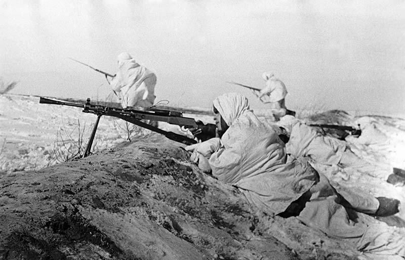 Битва за Москву. 1941 год