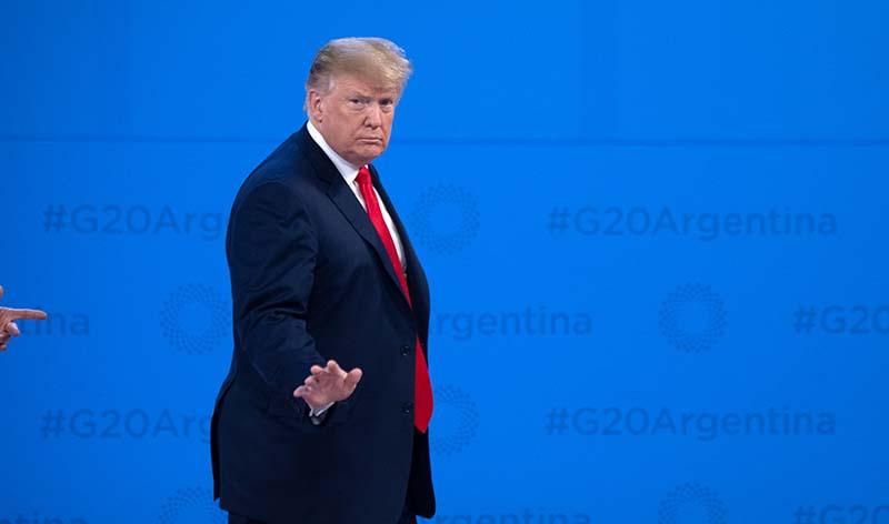Президент США Дональд Трамп на саммите G20