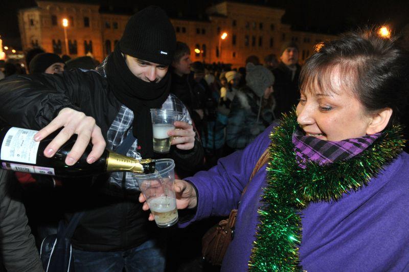 Новый год на Красной площади