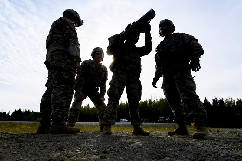 Испытание нового вооружения в США