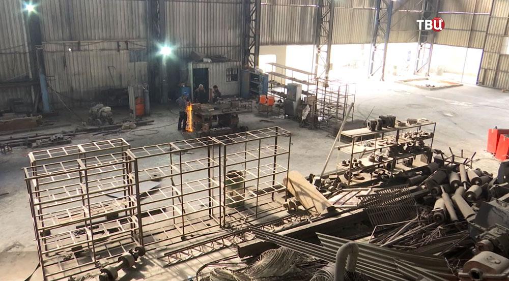 Арматурный завод в Сирии