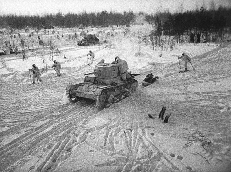 Битва за Москву. Контрнаступление Красной армии, 1941 год