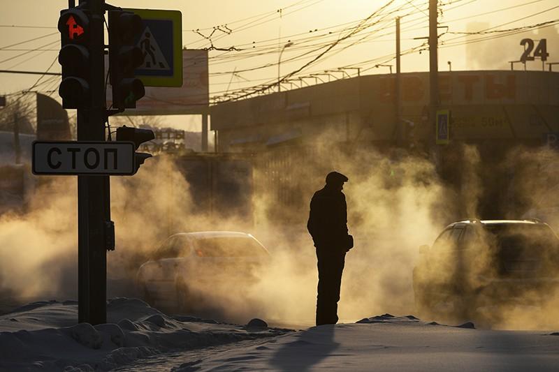 Сильные заморозки в Новосибирске