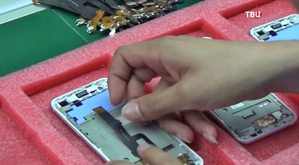 Сборка телефона Huawei