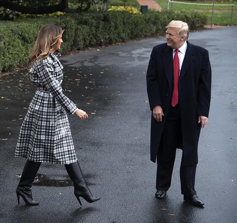 Дональд Трамп и Мелания Трамп