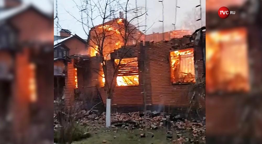 Пожар в доме Николая Бандурина