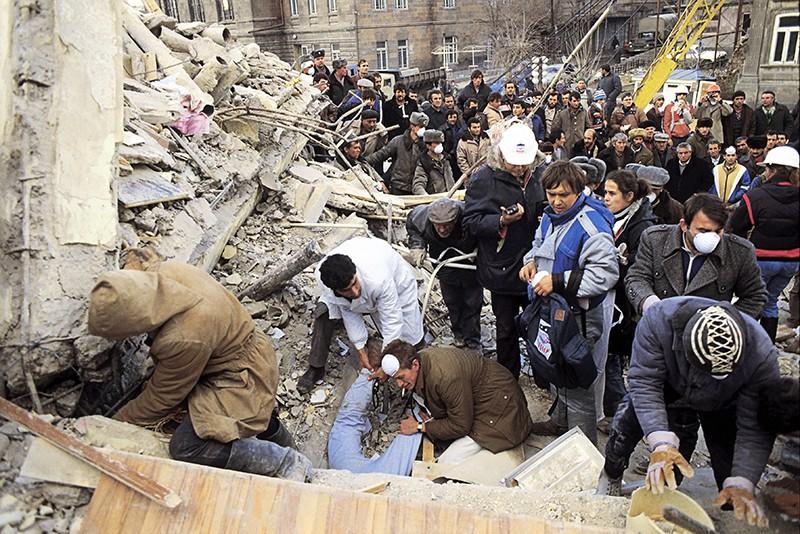 Землетрясение в Армении. 1988 год