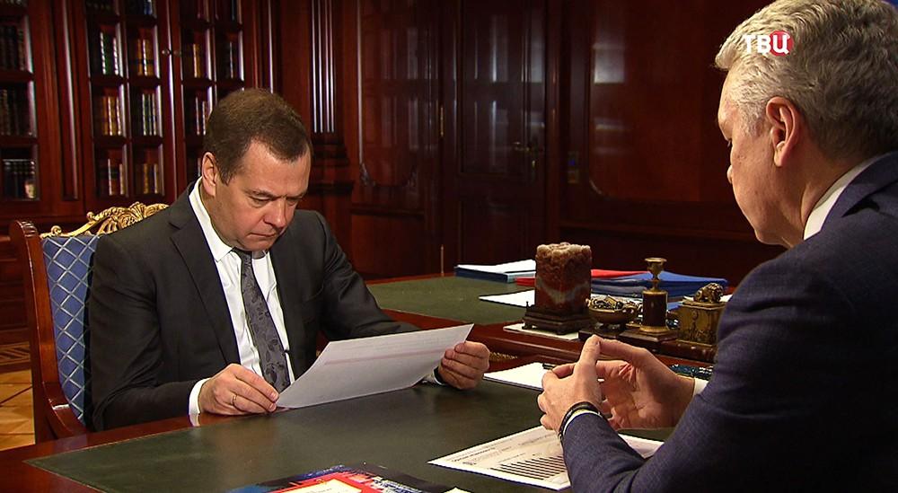 Дмитрий Медведев и Сергей Собянин