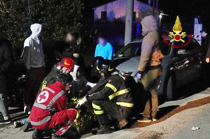 На месте происшествия в Италии