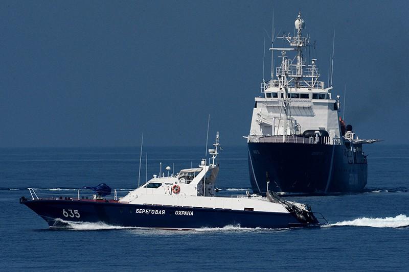 Пограничные сторожевые корабли береговой охраны России