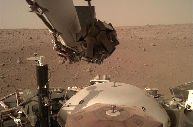 Аппарат НАСА InSight Mars