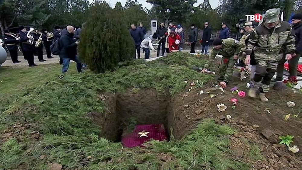 Перезахоронение солдат Красной армии в Крыму