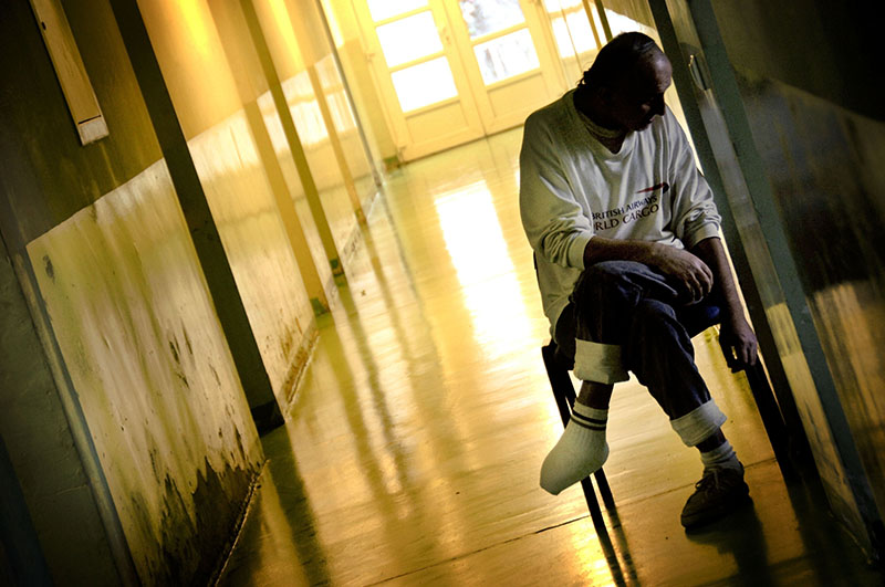 Пациент психиатрической больницы