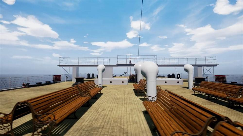 """Виртуальная модель """"Титаника"""""""