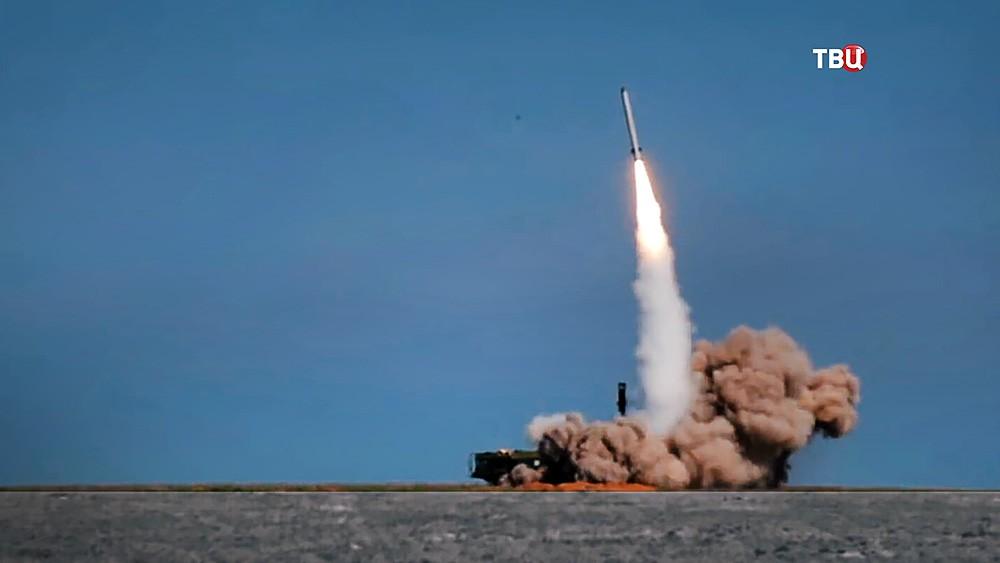 Пуск ракеты ЗРК