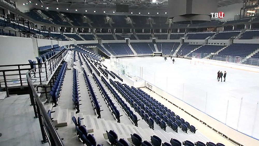 "Ледовая арена стадиона ""Динамо"""