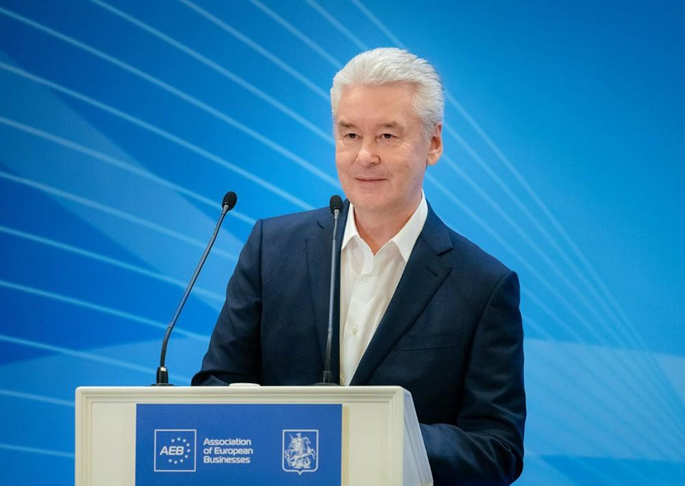 Сергей Собянин на встрече с европейскими бизнесменами