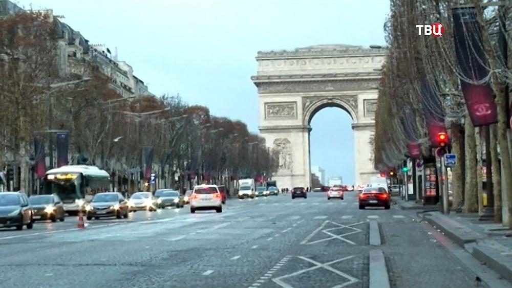 Елисейские Поля, Париж