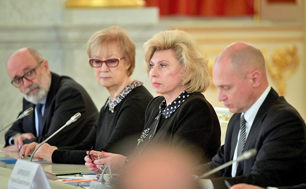 Татьяна Москалькова и Сергей Кириенко