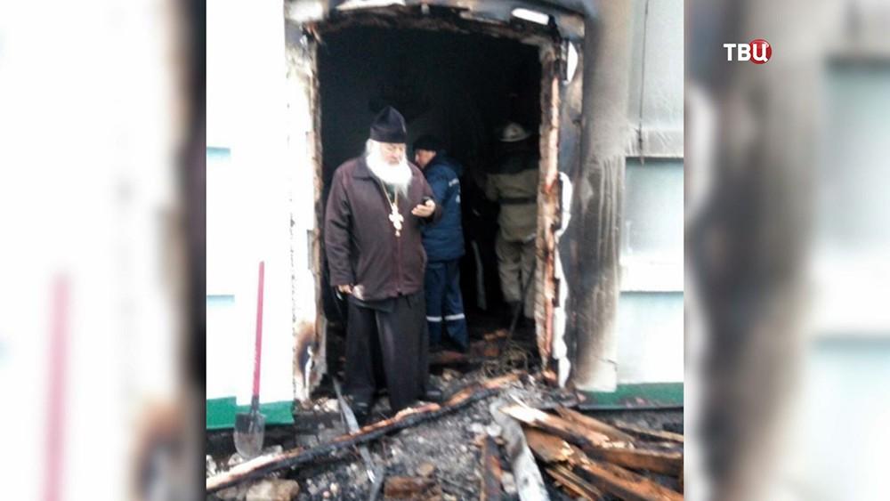Последствия поджога храма на Украине
