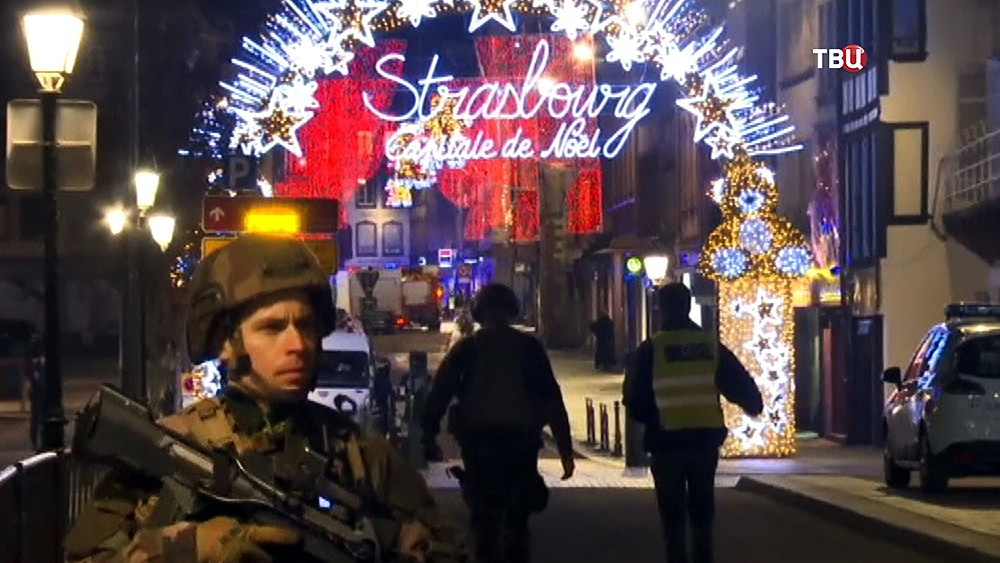 Военная полиция Страсбурга