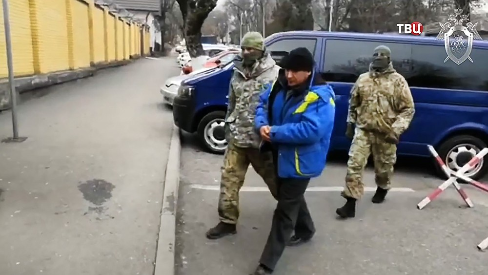 Задержанный член банды Басаева, Шамиль Казбулатов