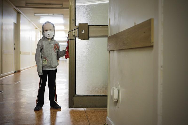 Дети в онкологическом центре