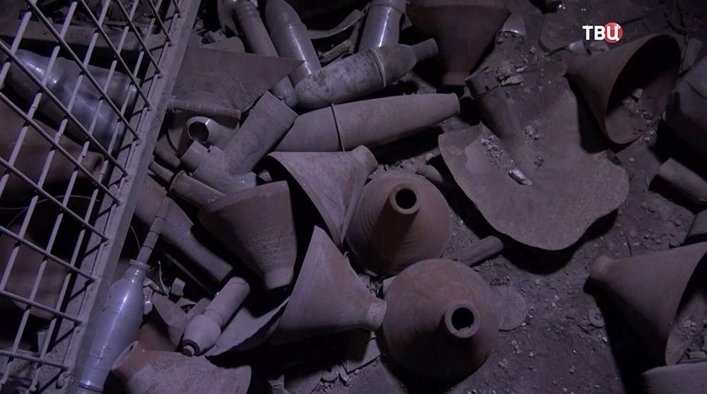 Скрытые бомбы в Сирии