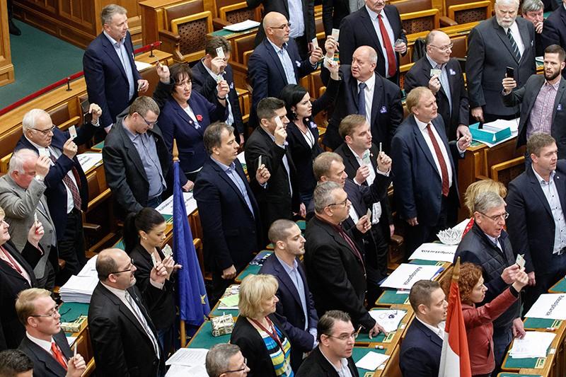 Парламент в Венгрии