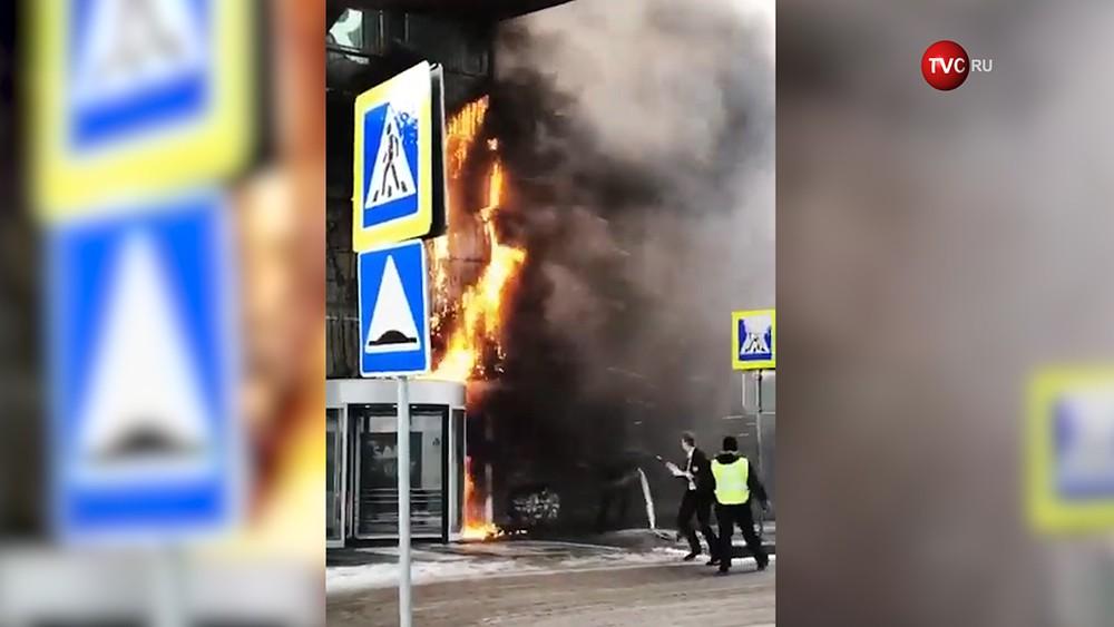 "Пожар в ТЦ ""Белая дача"""