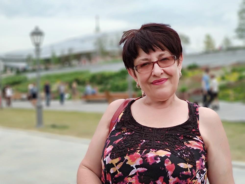 Украинская журналистка Елена Бойко