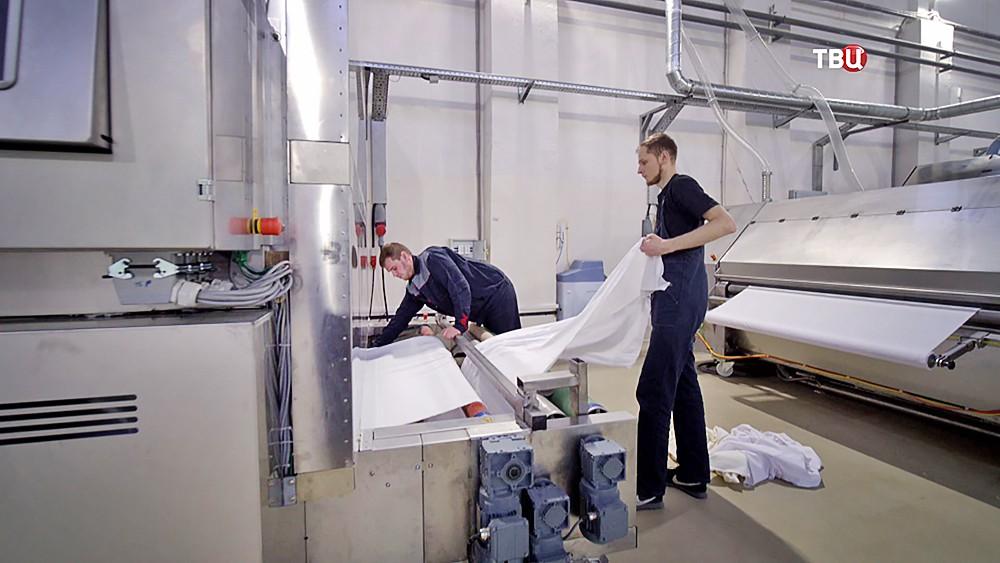 Производственное предприятие по печати на тканях