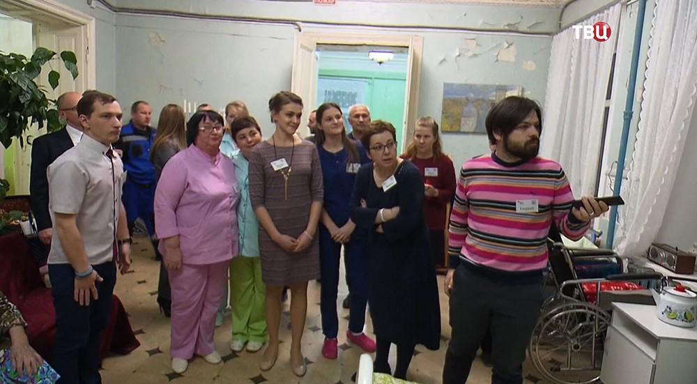 Пациенты из хосписа под Ярославлем