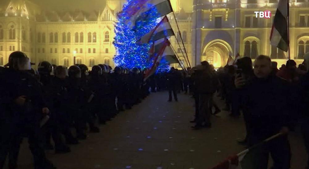 Беспорядки в Венгрии