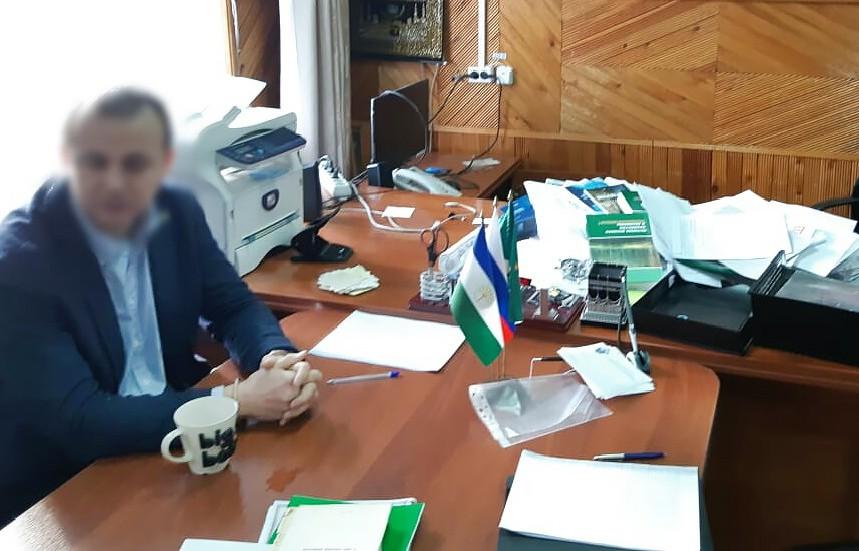 Задержанный начальник Белорецкого лесничества Башкортостана