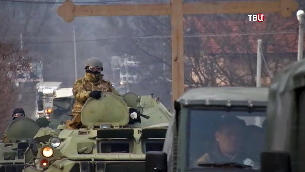 Миротворцы на границе Сербии и Косово
