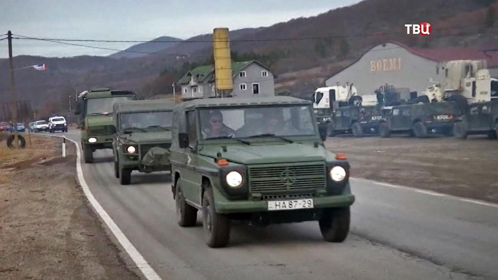 Военная техника армии Косова