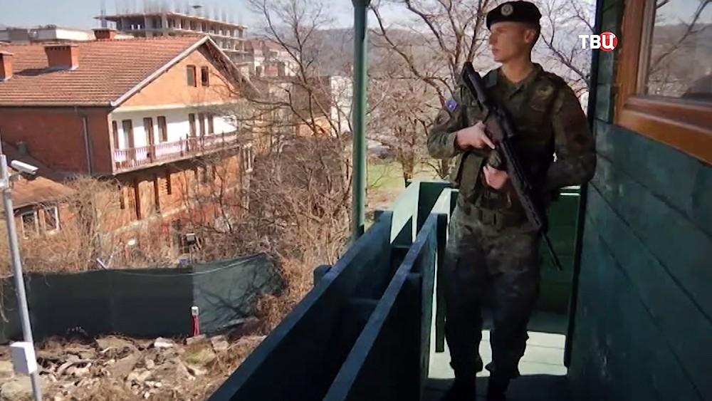 Военная база США в Косово