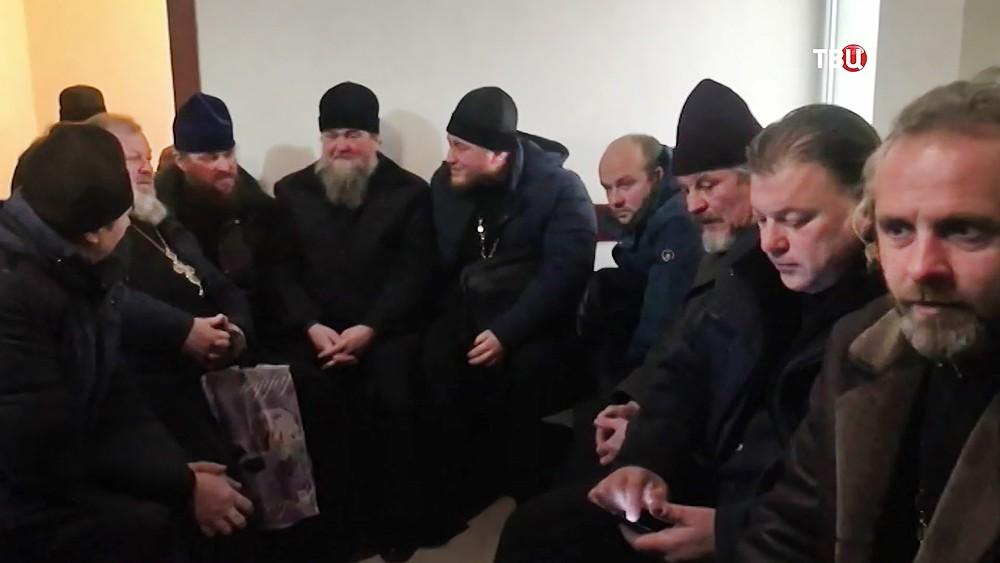 Священники на допросе в СБУ