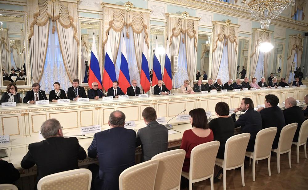 Заседание Совета по культуре и искусству
