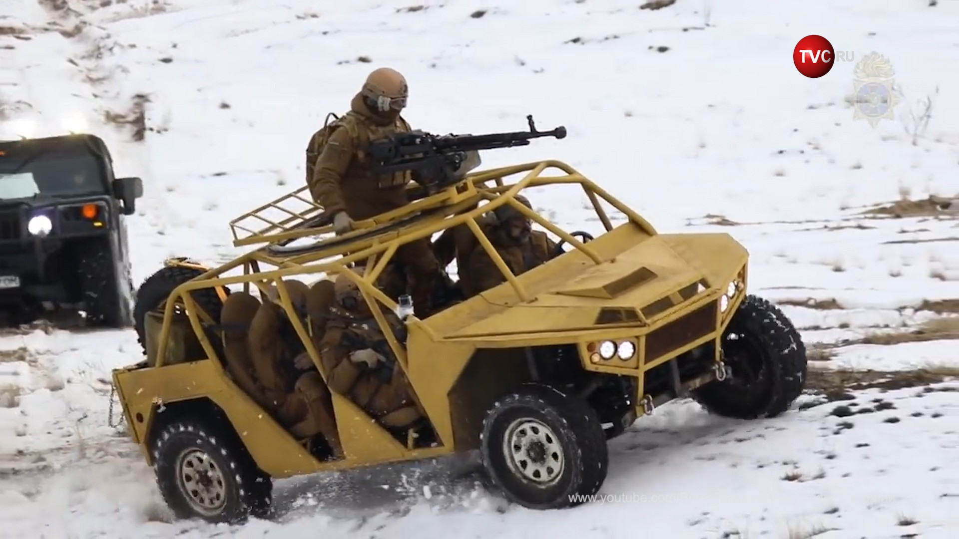 Новый автомобиль Нацгвардии Украины