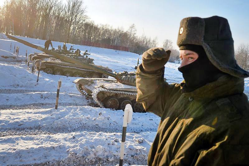 Учения российских военных