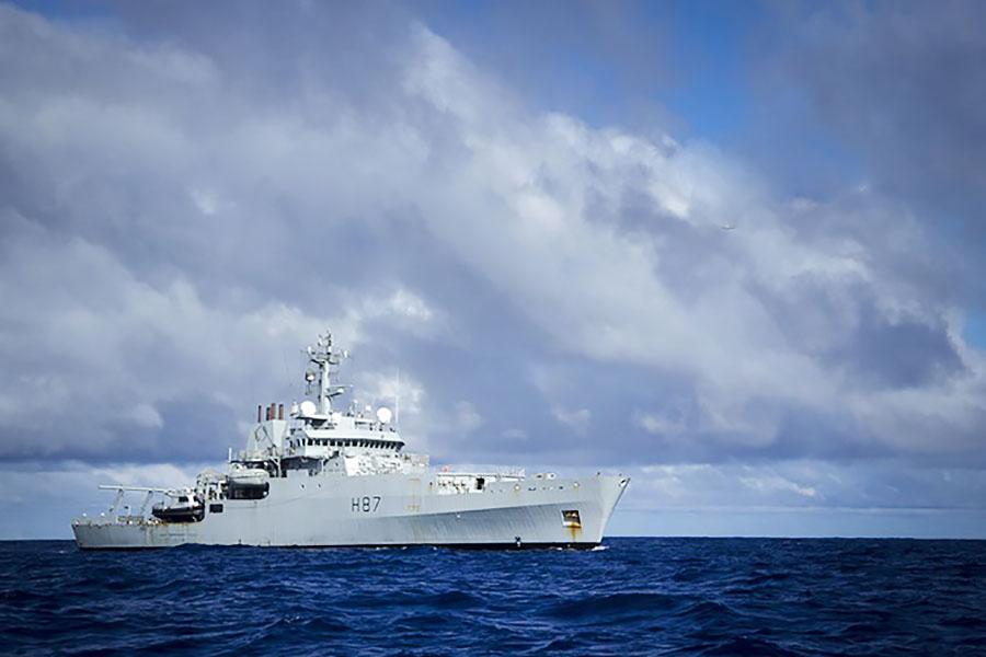 Корабль ВМФ Великобритании HMS Echo