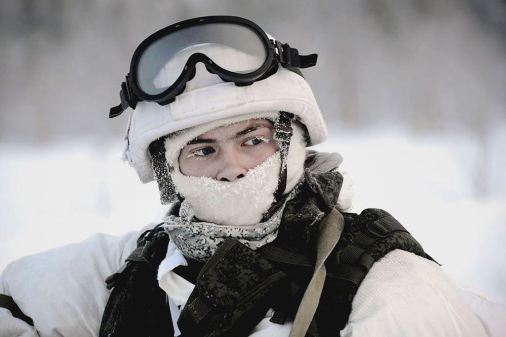 Военнослужащий армии России