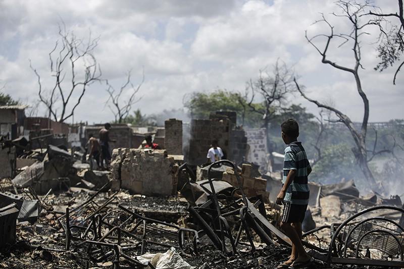 Последствия пожара в Бразилии