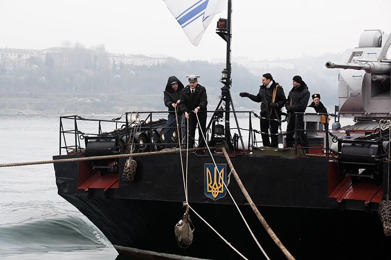 Корабль ВМС Украины