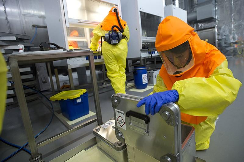 Лаборатория с биологическим оружием